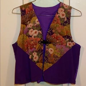Authentic Vintage Reversible Japanese Vest XL